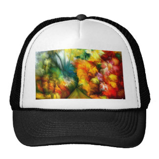 Tropical Abstract by rafi talby Trucker Hat