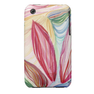 Tropical Abstract Watercolor iPhone Case