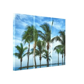 Tropical Afternoon Wrapped Canvas wrappedcanvas