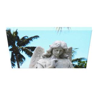 Tropical Angel Canvas Print