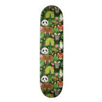 Tropical Animal Mix Skateboard