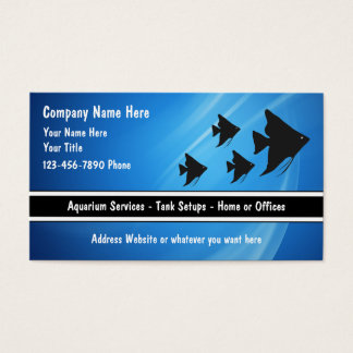 Tropical Aquarium Business Cards