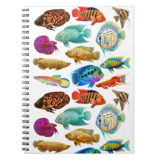 Tropical Aquarium Fish Notebook