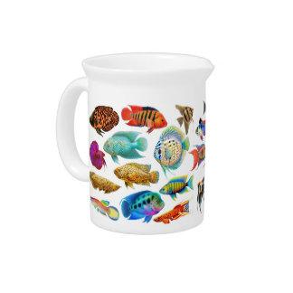 Tropical Aquarium Fish Pitcher
