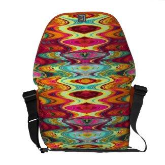 Tropical Aspects 3 Messenger Bag