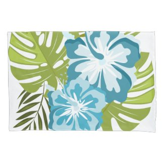 Tropical atmosphere pillow case