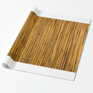 Tropical Bamboo Background Tropical Island Blank Wrapping Paper