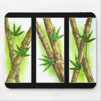 Tropical Bamboo Painting - Multi Mouse Pad