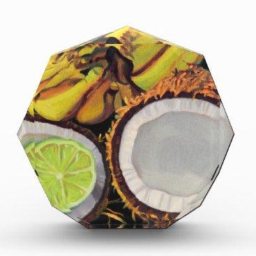 Beach Themed Tropical Banana Coconut Lime Award