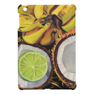 Beach Themed Tropical Banana Coconut Lime Case For The iPad Mini