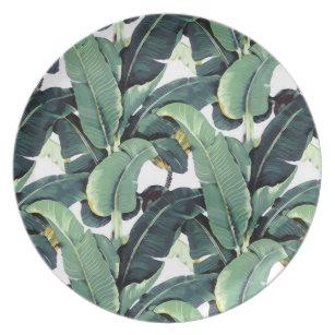Palm Tree Plates | Zazzle