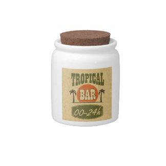 Tropical Bar Candy Dish