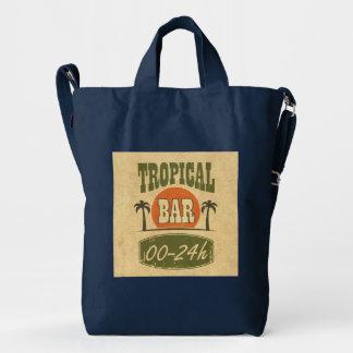 Tropical Bar Duck Bag