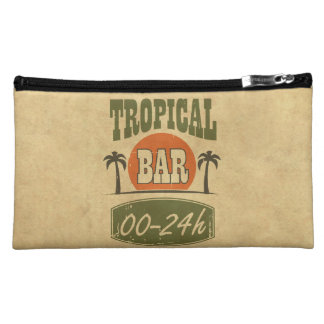 Tropical Bar Makeup Bag