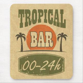 Tropical Bar Mouse Pad