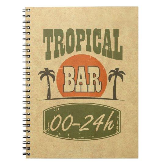 Tropical Bar Notebook