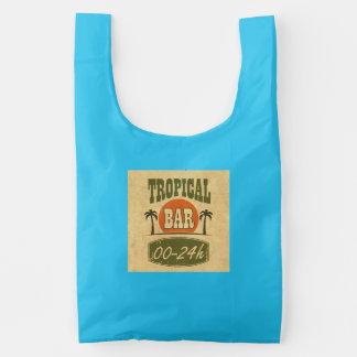 Tropical Bar Reusable Bag