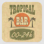 Tropical Bar Sticker