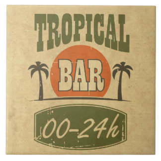 Tropical Bar Tile