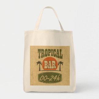 Tropical Bar Tote Bag