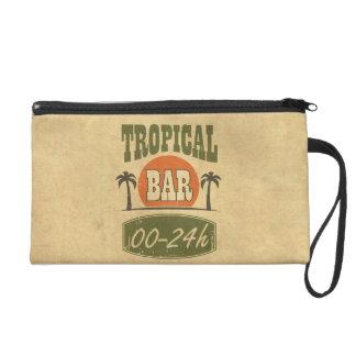 Tropical Bar Wristlet
