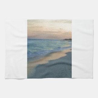 Tropical Beach 1 Hand Towel