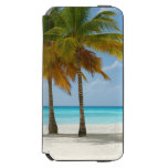 Tropical Beach and Palm Trees iPhone 6/6s Wallet Case