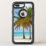 Tropical Beach and Palm Trees OtterBox Defender iPhone 7 Plus Case