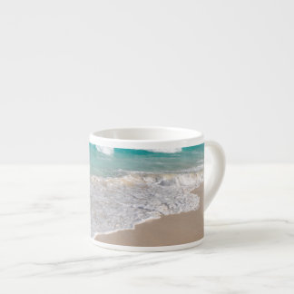 Tropical Beach and Sandy Beach Espresso Cup