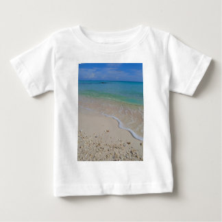 Tropical Beach Blue Waters Tahiti Baby T-Shirt