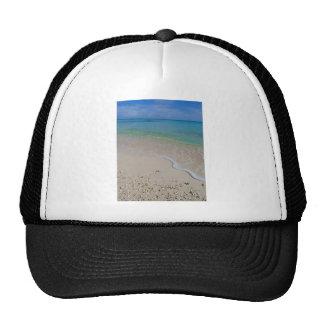 Tropical Beach Blue Waters Tahiti Trucker Hat