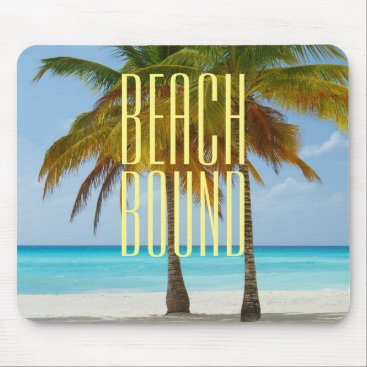 Tropical Beach Bound Mouse Pad