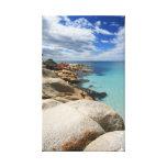 Tropical Beach - Canvas Canvas Prints