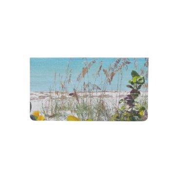 Beach Themed Tropical Beach Checkbook Cover