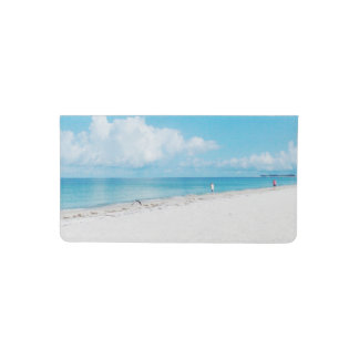 Tropical Beach Checkbook Cover