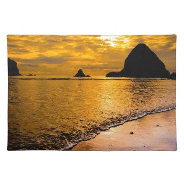 Beach Themed tropical beach cloth placemat