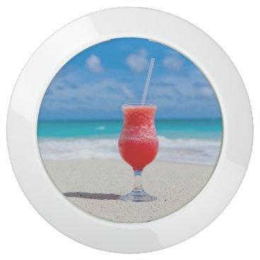 Beach Themed Tropical beach cocktail drink USB charging station