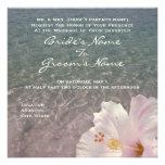 Tropical Beach Destination Wedding Invitation