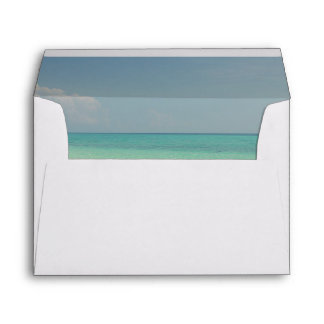 Tropical Beach Envelope