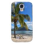 Tropical Beach Galaxy S4 Cases
