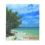 Tropical Beach HideAway Notepad
