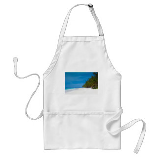 Tropical Beach in Barbados Adult Apron