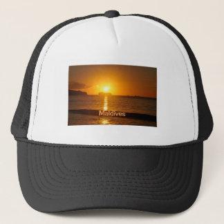 Tropical beach in Maldives Trucker Hat