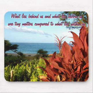 Tropical Beach Inspiration Mouse Pad