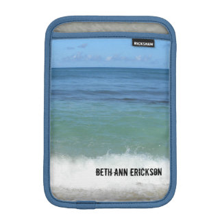 Tropical Beach iPad Sleeve