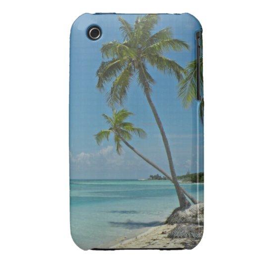 Tropical Beach iPhone3 Case-mate Case
