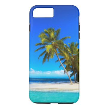 birthday Tropical Beach iPhone 7 Plus Case