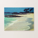 "Tropical Beach Jigsaw Puzzle<br><div class=""desc"">Nice day at a Bahamian beach in the tropics. Paradise Island,  Nassau,  Bahamas.</div>"
