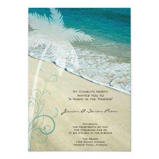 Tropical Beach Junior / Senior Prom Invite