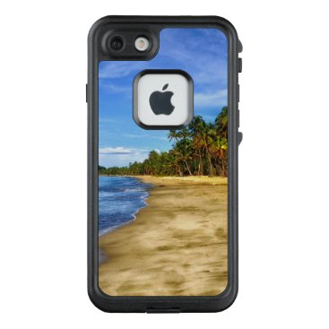 Beach Themed Tropical Beach LifeProof FRĒ iPhone 7 Case